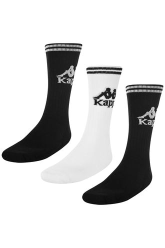 Medias-Authentic-Aster-3Pack-Kappa-Negro