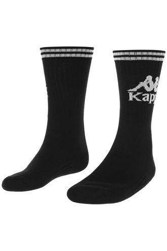 Medias-Authentic-Aster-1Pack-Kappa-Negro