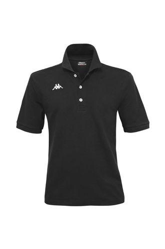 Camiseta-Polo-para-Hombre-Logo-Sharas-Mss-Kappa-Negro