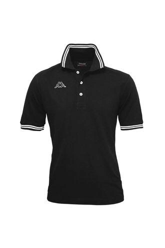 Camiseta-Polo-para-Hombre-Logo-Maltax-5-Mss-Kappa-Negro