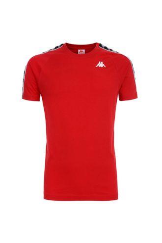 Camiseta-para-Hombre-222-Banda-Coen-Slim-Kappa-Rojo