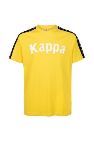 Camiseta-para-Hombre-222-Banda-Balima-Kappa-Amarillo