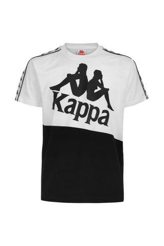 Camiseta-para-Hombre-222-Banda-Baldwin-Kappa-Blanco