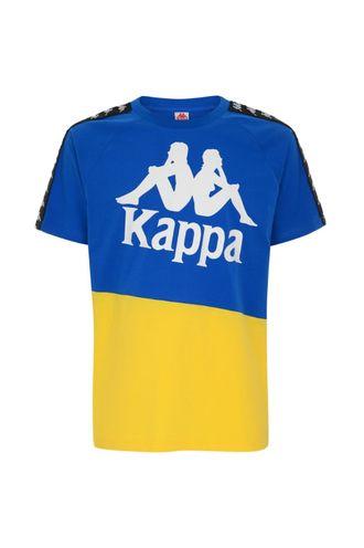 Camiseta-para-Hombre-222-Banda-Baldwin-Kappa-Azul