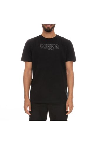 Camiseta-para-Hombre-Authentic-Lambro-Kappa-Negro