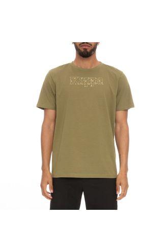 Camiseta-para-Hombre-Authentic-Lambro-Kappa-Verde