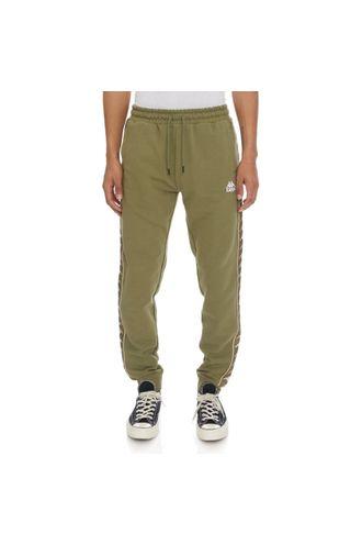 Pantalon-para-Hombre-222-Banda-Alanz-3-Kappa-Verde