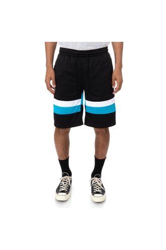 Pantaloneta-Unisex-Authentic-Football-Endel-Kappa-Negro