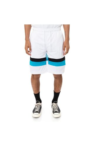Pantaloneta-Unisex-Authentic-Football-Endel-Kappa-Blanco