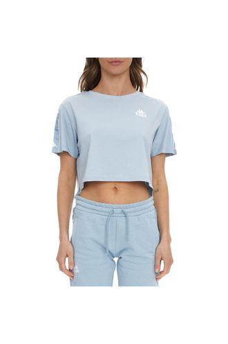 Camiseta-Mujer-222-Banda-Baua-Kappa-Azul