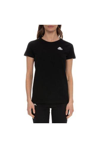 Camiseta-Mujer-222-Banda-Brefan-Kappa-Negro