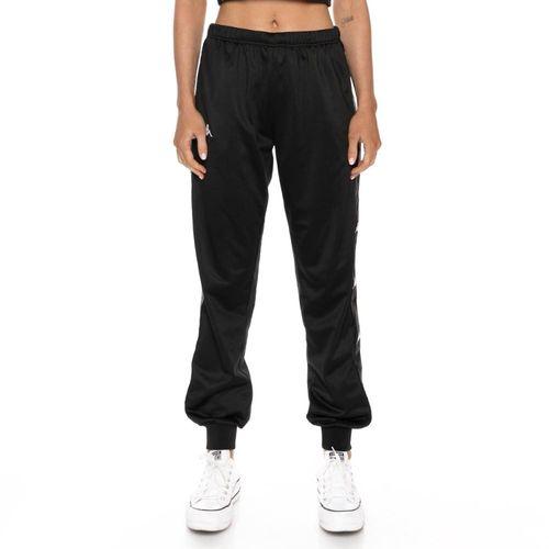 Pantalon-para-Mujer-222-Banda-Wrastory-Kappa-Negro
