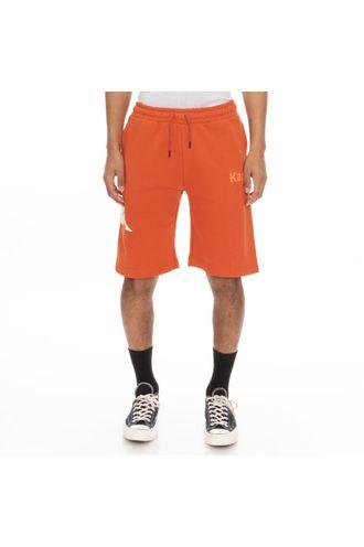 Pantaloneta-de-Hombre-Authentic-Sangone-Kappa-Naranja