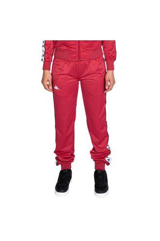 pantalones-mujer-222-banda-wrastoria-slim-kappa-rojo