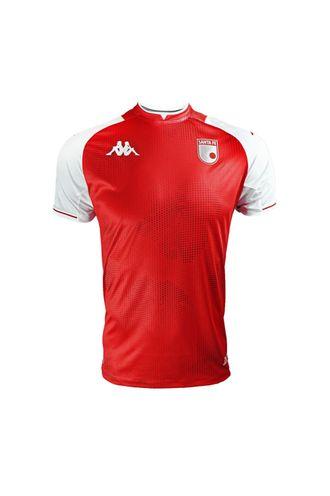 Camiseta-Kombat-Santa-Fe-Roja-Local-Hombre-Kappa-S