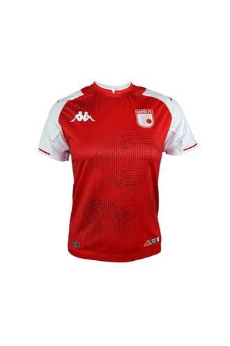 Camiseta-Kombat-Santa-Fe-Roja-Local-Mujer-Kappa-8