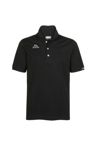 Camiseta-Logo-Maltaxita-Mss-Negra-Polo-Hombre-Kappa